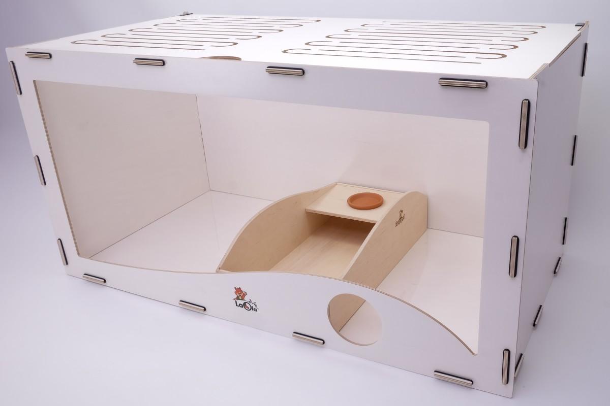 Rodipet® Wellenbad XL (50x25cm) (Einstreu & Sand